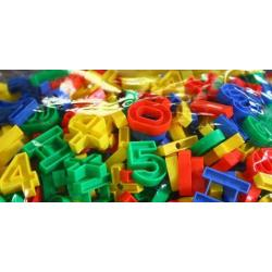 ชุดต่อร้อยเชือกตัวเลข (Education Toys)