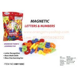 First Classroom - Magnetic ตัวเลข numbers and symbols 26 pcs ขนาด 1.5 นิ้ว **HM1189C**