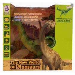 ไดโนเสาร์คอยาว บังคับวิทยุ แบรกคิโอซอรัส (Brachiosaurus) THE NEW WORLD OF DINOSAURS REMOTE CONTROL