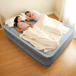 Intex ที่นอนเป่าลม ระบบไฟฟ้าในตัว Intex-67768 ขนาด 4.5 ฟุต