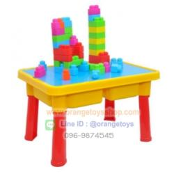 DIY BLOCK บล๊อกตัวต่อ Hot Deal TOP ONE ของเล่น บล็อคตัวต่อ พร้อมโต๊ะ (7709)