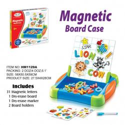 กระดานแม่เหล็ก First Classroom - Magnetic Board Case : Letters (HM1129A)