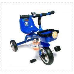 รถจักยาน สามล้อ สำหรับเด็ก แข็งแรง แบบมีตระกร้า --- สีแดง สีเหลือง สีเขียว สีน้ำเงิน---
