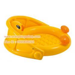 Intex สระน้ำเป็ดน้อยอาบน้ำ Ducky Friend Baby Pool รุ่น 57121