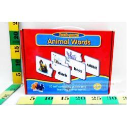 Match it Animal words เกมส์จับคู่ ชุดต่อคำศัพท์ Animal words