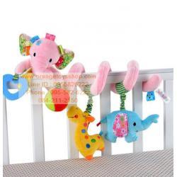 โมบาย สำหรับเด็ก JOLLY BABY ช้างน้อยสีชมพู