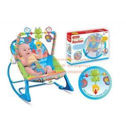 เปลโยก-สั่น มีเสียงเพลง ibaby Infant-to-toddler Rocker ลายแมลงปอ สีฟ้า