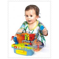 Huile Toys กล่องเครื่องมือช่าง ครบเซต สำหรับเด็ก พยาสติกอย่างดี ***Huile907***