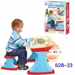 โต๊ะ - เก้าอี้ พร้อมอุปกรณ์ออกแบบ LEARNING DESK AND EASEL
