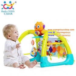 Huile Toys ชุดยิมเด็ก 5 in 1 Baby Gym เพลยิมเสริมพัฒนาการ