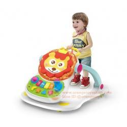 รถขาไถ และ รถผลักเดิน 4 in 1 หน้าสิงโต แบบใหม่ SmartKids 4 in 1 Sit to Stand Baby Grow Up