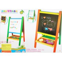 กระดาน 2 หน้า (ไวท์บอร์ด + กระดานดำ) Multipurpose study Big drawing boards ไวท์บอรด์ใหญ่ กระดานไม้ไวท์บอร์ด