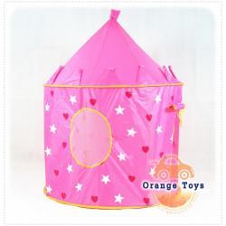 (บ้านบอลเด็ก) เต็นท์เจ้าหญิงแสนสวย (สีชมพู) โดม