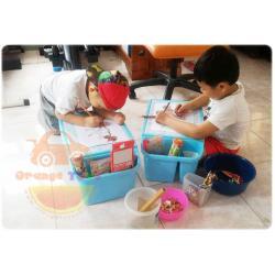 โต๊ะเขียนหนังสือ โต๊ะ อเนกประสงค์ สำหรับเด็ก *** สีฟ้า สีชมพู**