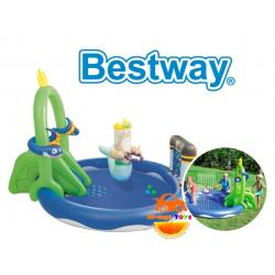 บ้านเป่าลม ส่วนน้ำเป่าลม โจรสลัด Bestway 53057 kids' play pool Inflatable Undersea Play Center Pool