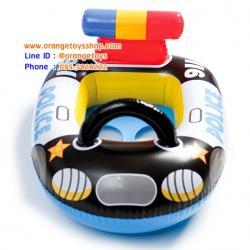 เรือขาสอด INTEX ห่วงยางว่ายน้ำเด็กเล็ก ห่วงยางแบบสอดขา รูปรถตำรวจ (59586)