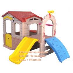 (SLIDER) บ้านหรรษากระดานลื่น พร้อมสไลด์เดอร์