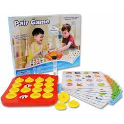 ( เกมส์ฝึกสมอง )เกมส์จับคู่ Pair Game เป็นเกมที่ถูกออกแบบเพื่อช่วยเสริมเรื่องการพัฒนาความจำ