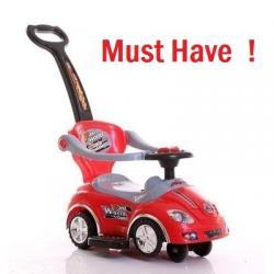 รถขาไถ 3 in1 Car Stroller - Baby มีกันตก มีด้ามเข็น