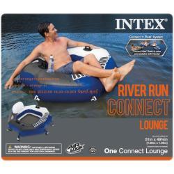 """แพยางเป่าลม แบบเดี่ยว Inflatable raft """"River descent"""" 58854NP intex"""