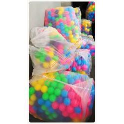 """(ลูกบอล บอลนิ่ม) ลูกบอล ขนาด 3"""" จำนวน 300 ลูก คละสี"""