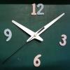 ชุดตัวเครื่องนาฬิกาญื่ปุนเดินเรียบ เข็มลายโมเดิน ขนาดยาว เข็มสั้น-เข็มยาวสีขาว เข็มวินาทีสีดำ อุปกรณ์ DIY สำเนา
