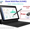 "Chuwi Hi10 Plus:Win10+Android 5.1 Intel Quad Core 1.92GHz 10.8"" IPS 1920*1280 USB3.0 Type-C HDMI 4GB/64GB 8400mAh Stylus"