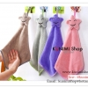 GK321 ผ้าเช็ดมือ ผ้าขนหนูดูดซับน้ำได้ดี สำหรับแขวนเช็ดมือ สวยน่ารัก ขนาด กว้าง 22 * ยาว 42 ซม.