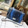 LULU House กระเป๋าหนังลายสี