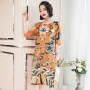 ชุดเดรสเกาหลี พร้อมส่ง Dress ทรงหน้าสั้นหลังยาว คอกลม