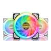 FAN CASE '12cm NUBWO (NFT-220) Cyclone RGB (Pack 3)