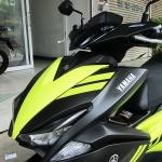 ขาย Yamaha Aerox 155 CC ปลายปี 2017 ไมล์แท้ 4666 กม