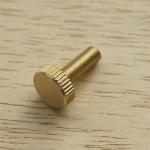 ลูกบิดทองเหลือง M5 x 15.5 mm