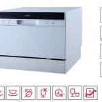 HAFELE เครื่องล้างจานอัตโนมัติแบบตั้งเคาน์เตอร์ รุ่น ACEY ความจุ 6 ชุดอาหาร