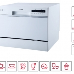 HAFELE เครื่องล้างจานอัตโนมัติแบบตั้งเคาน์เตอร์ รุ่น ADIA ความจุ 6 ชุดอาหาร
