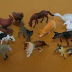 ชุดสัตว์ฟาร์มจิ๋ว 12 ตัว