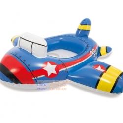 เรือขาสอด INTEX ห่วงยางว่ายน้ำเด็กเล็ก แบบสอดขา รุ่น 59586 Intex 59586-2 Kiddie Floats - Plane, Blue