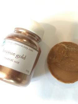 Bronze Gold Mica ผงไมก้าสีทองแดง
