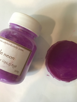 Purple Neon ผงไมก้าสีนีออนสีม่วง