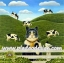 กระดาษสาพิมพ์ลาย สำหรับทำงาน เดคูพาจ Decoupage แนวภาพ แมวคาวบอย หนุ่มเลี้ยงวัวในฟาร์ม thumbnail 1