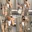 Burberry Scott Blazer Set งานเซ็ตลายสก๊อตเสื้อสูทและกางเกงขาสั้นเอวสม๊อค ใส่เข้าชุดกันน่ารักมาก งานสวยแขนพองค่ะ thumbnail 1