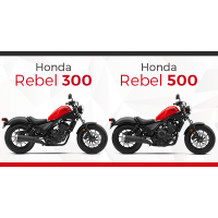 ของแต่งRebel 300-500
