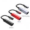 HOCO LS18 2in1 Dual Lightning Charging Audio Converter Adapter รองรับการชาร์จ+ฟังเพลง