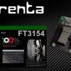 ผ้าเบรคหน้า BRENTA ORGANIC BRAKE PADS สำหรับ (KTM Duke 200-390) FT3154
