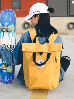 กระเป๋าเป้สะพายหลัง แฟชั่นฮาราจูกุญี่ปุ่น ความจุขนาดใหญ่ มี6สี